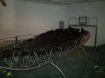 Excavated 1st century fishing boat