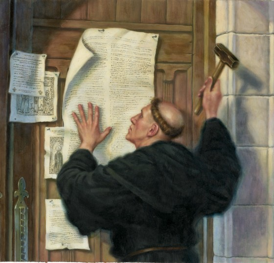 martin luthers thesis Read the full text of the martin luther 95 theses and a link to a summary.