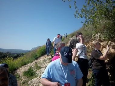 The mountain on which Jesus delivered his most famous sermon.
