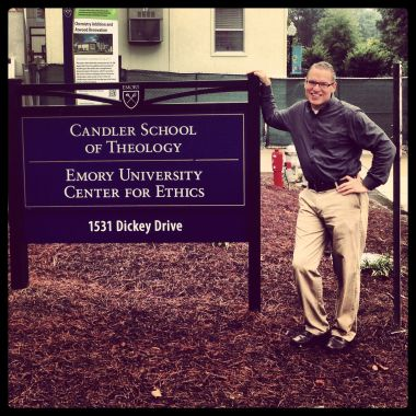 I visited one of my alma maters yesterday. Going to seminary and becoming a pastor wasn't such a radical change.