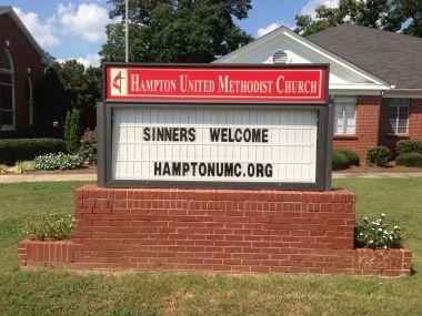 My church in Hampton, Georgia.