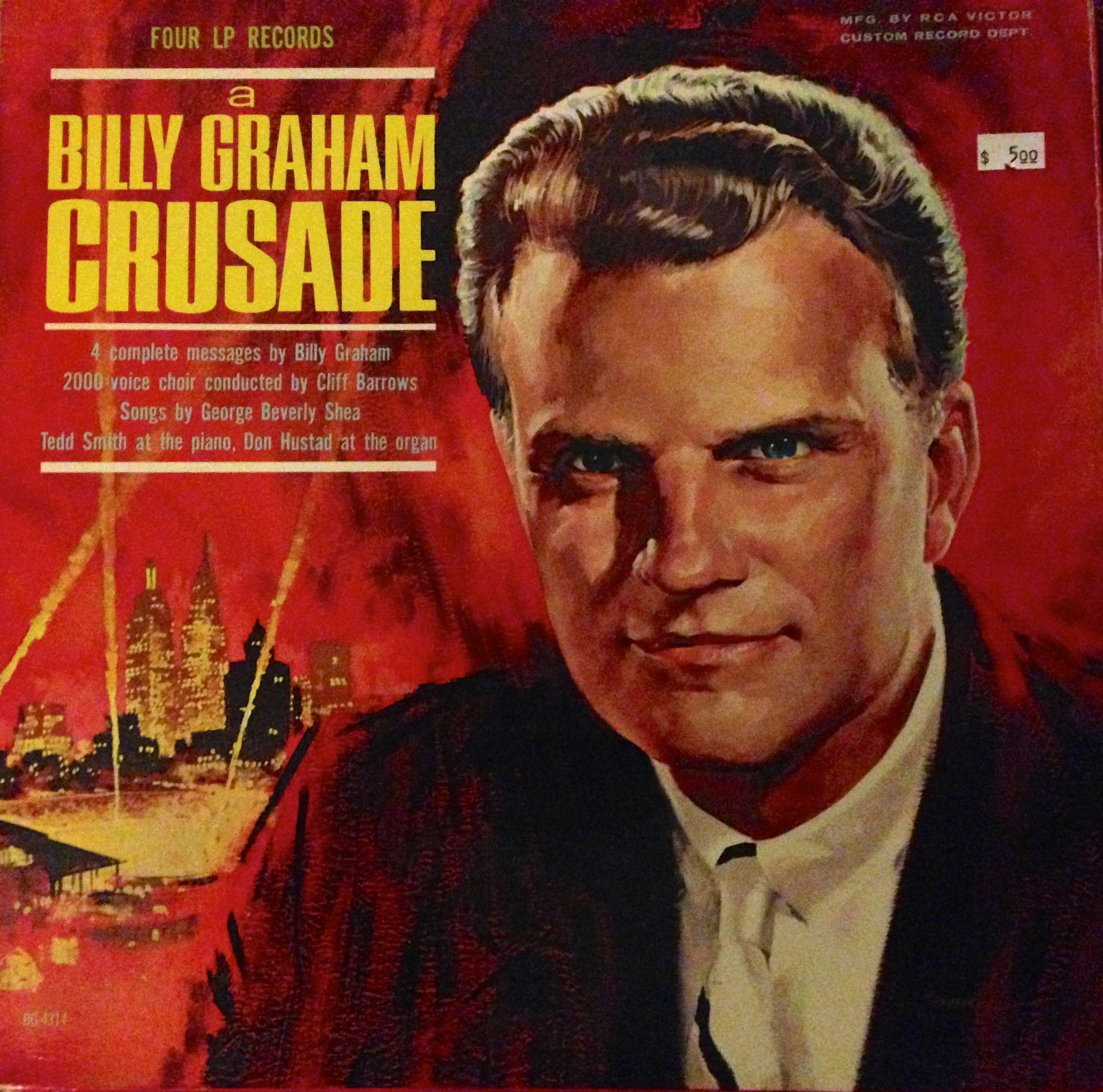 Billy Graham on Viny