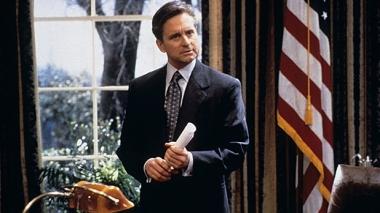 "Michael Douglas in ""The American President"""