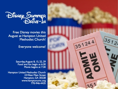 Disney Summer Drive-In
