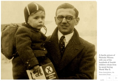 Nicholas Winton risks everything to save the lives of children in Czechoslovakia before the war.