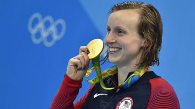 The great Katie Ledecky