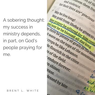 Rev  Brent L  White  