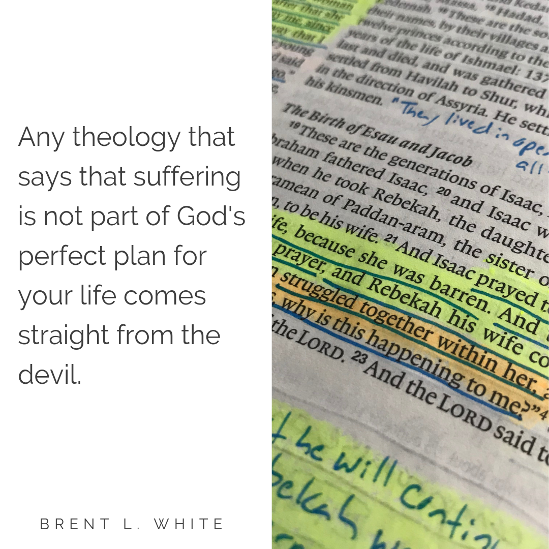 God's sovereignty | Rev  Brent L  White